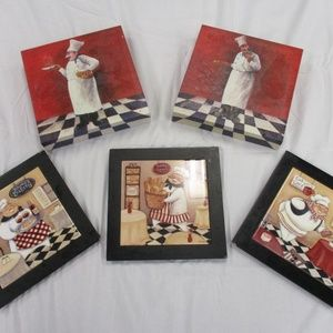 Other - kitchen wall decor (chef)